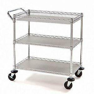 Elegant Metal Kitchen Carts