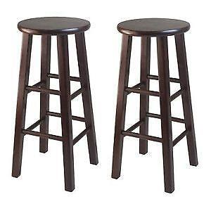 Genial Wooden Bar Stools