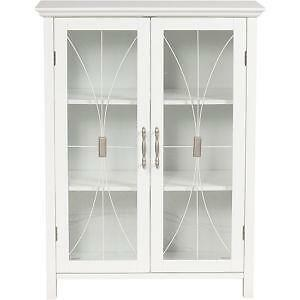 Perfect KitchenGlass Door Cabinets