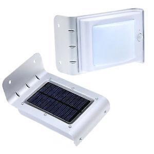 outdoor motion sensor solar light