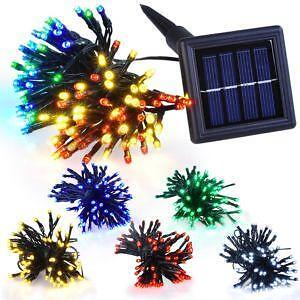 Solar Garden String Lights