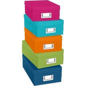 Paper Storage Boxes  sc 1 st  eBay & Paper Storage   eBay