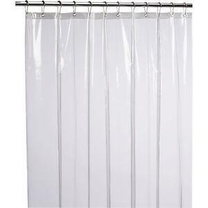 Clear Shower Curtain Liners