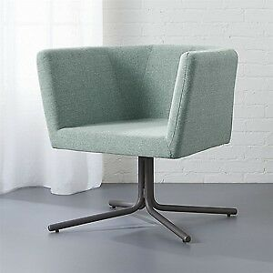 Two BRAND NEW CB2 Swivel Chairs (condo Sized)