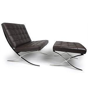 Barcelona Style Chairs  sc 1 st  eBay : chaise barcelona - Sectionals, Sofas & Couches