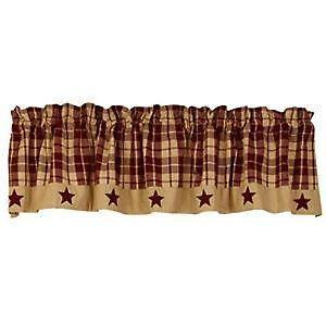 Red Plaid Curtains