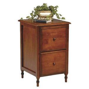 Perfect 2 Drawer Wood File Cabinet