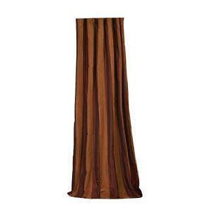 Faux Stripe Silk Curtains