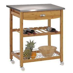 Nice Stainless Steel Kitchen Cart