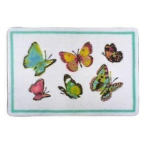 Butterfly Bathroom Rugs