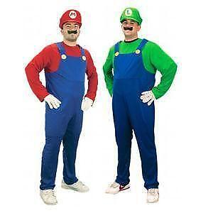 Adult Mario Costume  sc 1 st  eBay : halloween costumes on ebay  - Germanpascual.Com