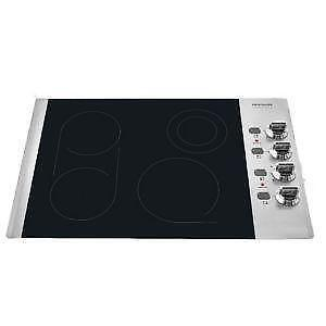 frigidaile electric cooktops