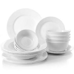 corelle dinnerware - White Dinnerware Sets