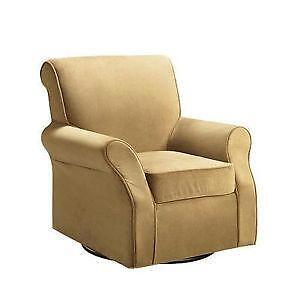 upholstered rocker glider