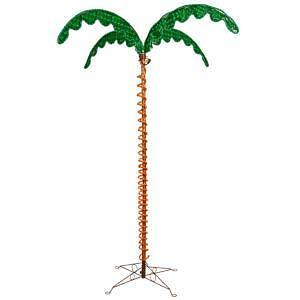 7 Foot Lighted Palm Trees