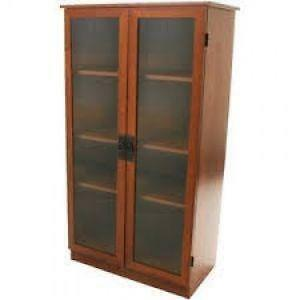 Charming Vintage Wood Bookcases