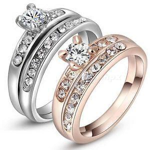 Charmant Gold Wedding Ring Sets