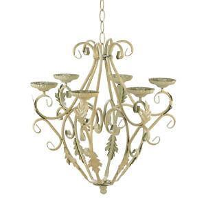 Wrought Iron Candle Chandeliers