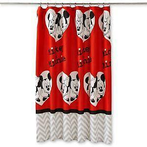 Mickey Mouse Window Curtains