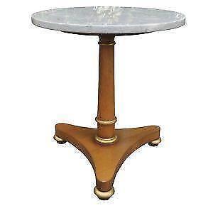 Vintage Marble Top End Tables