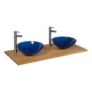Double Vessel Sink Vanity