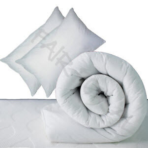 Spare duvet and pillows