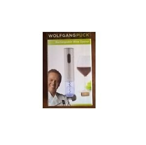 Wolfgang Puck Reachargeable Wine Opener