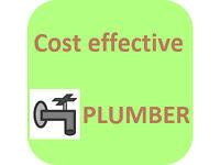 Plumber cost effective repairs