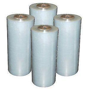 Pallet Wrap, shrink film, stretch wrap - 4 rolls