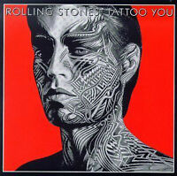 "The Rolling Stones Tattoo You LP vinyl record 12"" Rock Jagger"