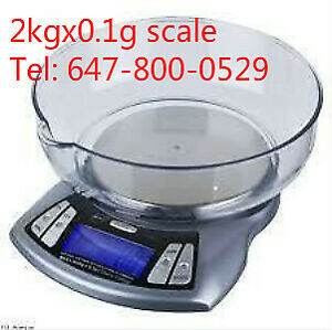 2kgx0.1g and 3kgx0.1g digital industrial weigh scale with tray