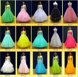 NEW and Lightly used PROM dresses