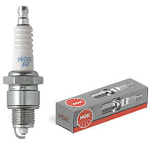 NGK B6HS 2-Stroke Spark Plug Bicycle Engine Replacement Motorized - B6hs Spark Plug