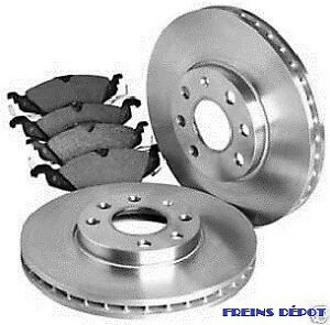 PLAQUETTE DISK PADS ROTOR FREINS BRAKES  DISQUES ARRIERE AVANT