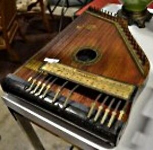 Antique Celestaphone Musical String Instrument Phonoharp (1912)