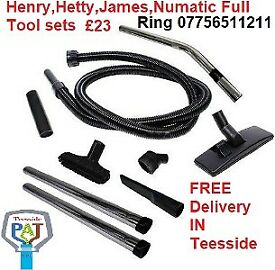 Henry Hoover full tool set