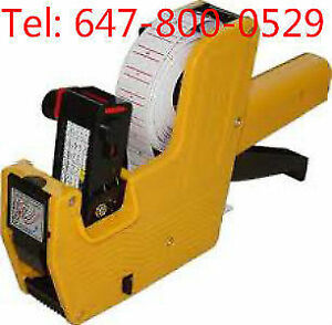 brand new label gun/price labeller/price gun with label and ink