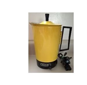 Vintage Empire Yellow Electric Kettle