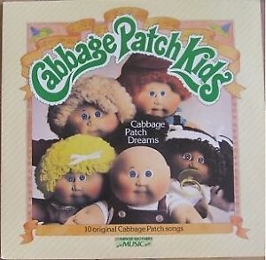 CABBAGE PATCH EAR MUFFS, PARTY HATS, 2 ABUMS