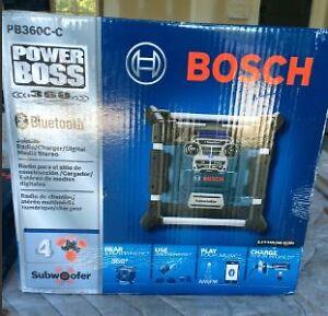 Bluetooth Bosch Jobsite Radio Kingston Kingston Area image 1