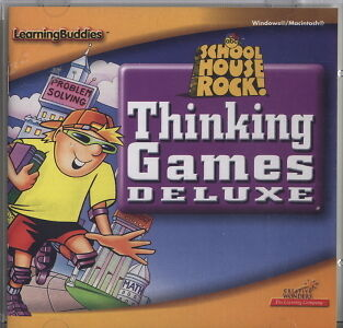 School House Rock! Thinking Games Deluxe for PC or - Games For School