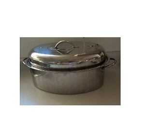 Stainless Steel Turkey Roaster with Lid
