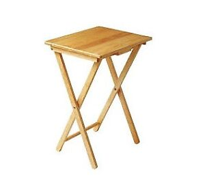 Foldable End Table