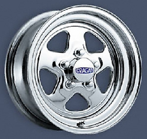 MAGS ETOILE CRAGARS 15X8  4 POUCE BACK SPACE FORD CHRYSLER DODGE