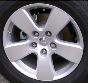 20 inch Dodge Ram rims and winter tires