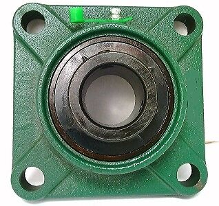 Ucf207-23 1 716 Black Oxide Plated Insert  Square Flanged Mounted Bearings