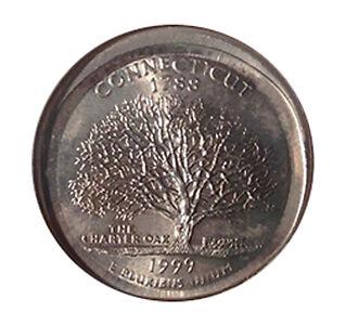 1999-P Connecticut Broadstruck Quarter