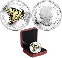 Piece de monnaie 20$ pièce Papillons du Canada-Le papillon tigre