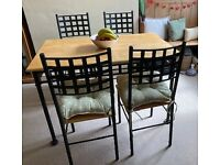 Why are you missing out? Pine Table and Four Chairs for Sale
