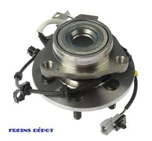 WHEEL BEARING DE ROUE HUB ASSEMBLY ROULEMENT AVANT ARRIERE ABS